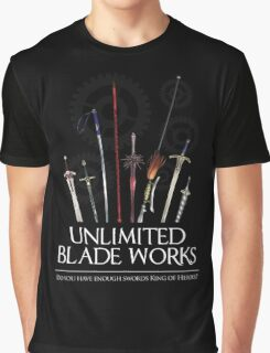 Unlimited Blade Works - Reality Marble Graphic T-Shirt