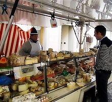The Cheese Vendor by diggle