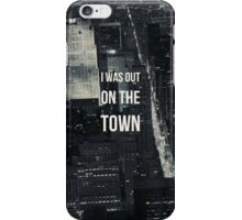 Out On the Town iPhone Case/Skin