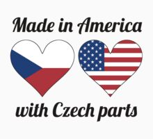 Made In America With Czech Parts Baby Tee