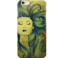 The Mermaid and the Fish iPhone Case/Skin