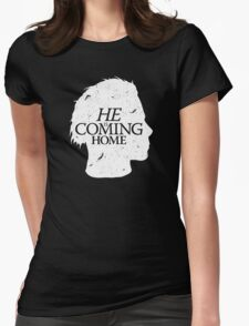 Halloween is Coming Womens Fitted T-Shirt
