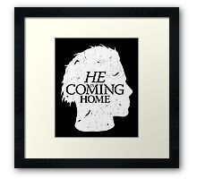 Halloween is Coming Framed Print