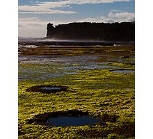 Rockpools and Climbers Photographic Print