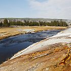 Firehole River by Olga Zvereva