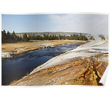 Firehole River Poster