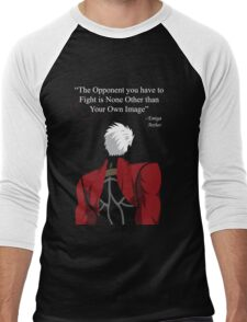 Archer Fate Stay Night Quote Men's Baseball ¾ T-Shirt