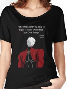 Archer Fate Stay Night Quote Women's Relaxed Fit T-Shirt
