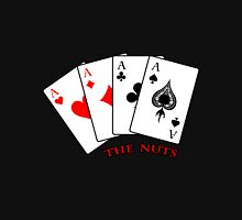 """The Nuts"" - Poker - Four Aces Men's Baseball ¾ T-Shirt"