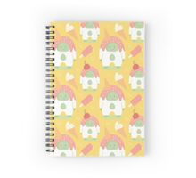 Sweet Confetti Yeti  Spiral Notebook