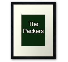 Green Bay Packers - the packers Framed Print