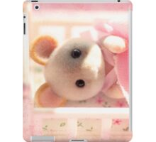 Marshmallow Mouse iPad Case/Skin