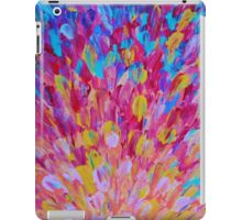 SPLASH, Revisited - Bold Beautiful Feminine Romance Ocean Beach Waves Abstract Acrylic Magenta Crimson iPad Case/Skin