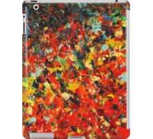 END OF THE RAINBOW - Bold Multicolor Abstract BC Colorful Nature Inspired Sunrise Sunset Ocean Beach Theme iPad Case/Skin