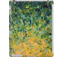 IRISH SUNRISE - Beautiful Vancouver Bold Lime Kelly Forest Green Sunrise Sunset Abstract Nature Painting iPad Case/Skin