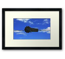 Object in space Framed Print
