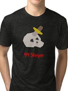 Runescape: 99 Slayer Tri-blend T-Shirt