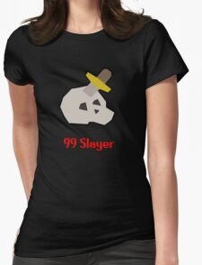 Runescape: 99 Slayer Womens Fitted T-Shirt