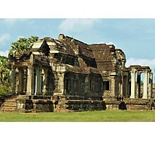 Angkor Wat Library Photographic Print