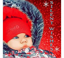 SILENT WISHES-KIDS PICTURE..AND APPAREL... Photographic Print