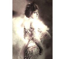 Vintage Woman 1900s,Digital Altered Art. Photographic Print