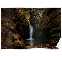 Lower Bailey Falls, Tennessee Poster