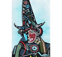 TOM BAKER THE WIZARD Photographic Print