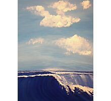 Heavy Swells In The Harbor Photographic Print
