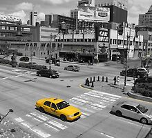 New York Taxi by spanners79