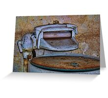 Washer And Wringer Greeting Card
