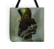 One Man Tank Returning From Battle Tote Bag