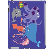 Underwater Creatures iPad Case/Skin