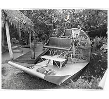 Florida Everglades Airboat Poster