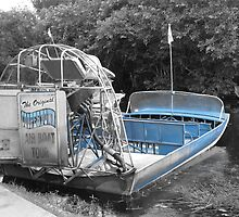 Florida Everglades Airboat by spanners79