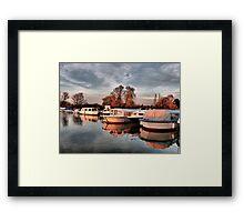 Norfolk Broads. Framed Print
