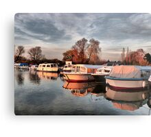 Norfolk Broads. Metal Print