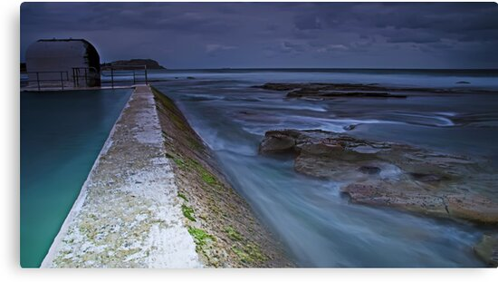 The Pumphouse Corner, Merewether Ocean Baths by bazcelt