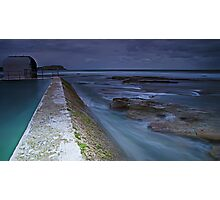 The Pumphouse Corner, Merewether Ocean Baths Photographic Print