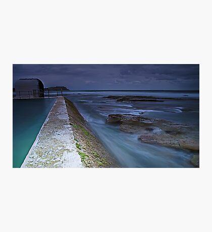 The Pumphouse Corner, Merewether Ocean Baths Photographic Print