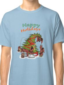 Happy Holidays from your little friends Classic T-Shirt