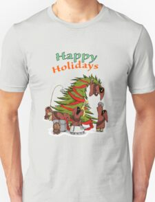 Happy Holidays from your little friends T-Shirt