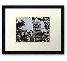 demolition machine     Framed Print