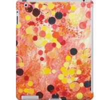 PERSONAL BUBBLE - Hot Pink Bubblegum Pop Fun Whimsical Circles Abstract Acrylic Painting Gift iPad Case/Skin