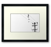 Electric Shoes Framed Print