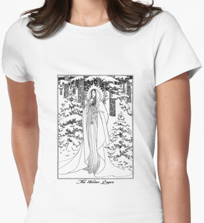 The Winter Queen Womens Fitted T-Shirt