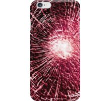Red shatter case 1 iPhone Case/Skin