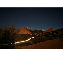 Garden of the Gods Traffic #3 Photographic Print