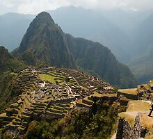 Machu Picchu - Peru by Dev Wijewardane