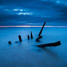 Longniddry Shipwreck by Allan  England
