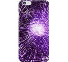 Purple shatter case 1 iPhone Case/Skin